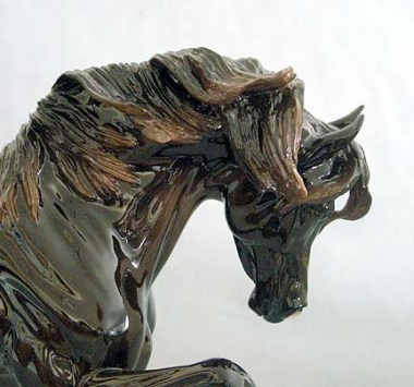 SHARIF sculpture by Brigitte Eberl