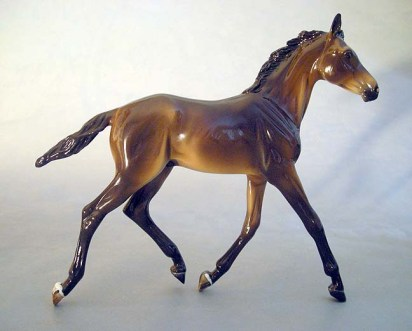 BREYER GILEN sculpture by Brigitte Eberl