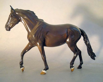 BREYER GISELE sculpture by Brigitte Eberl