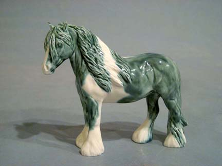 JUNIPER Irish Cob sculpture