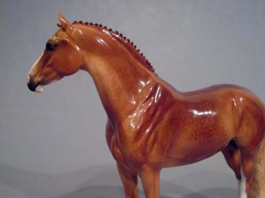 LANCELOT sculpture by Brigitte Eberl