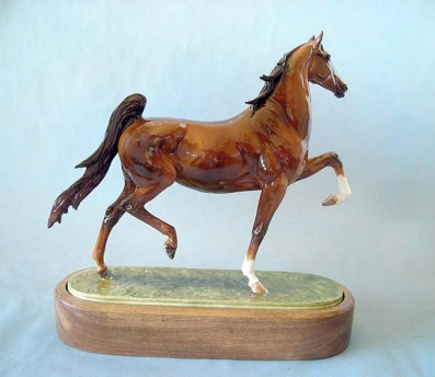 ROYAL WORCESTER AMERICAN SADDLEBRED