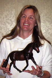 The first time I held the Breyer model!