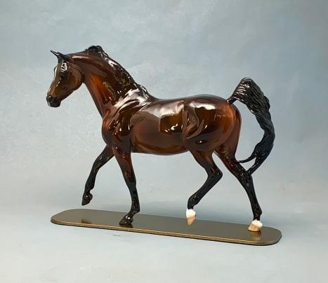 Denderah, a painted resin