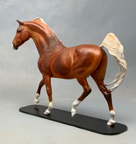 Denderah, a painted resin (in progress)